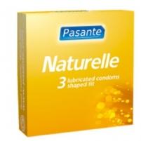 Prezervatyvai Pasante Natūralumas (3vnt)