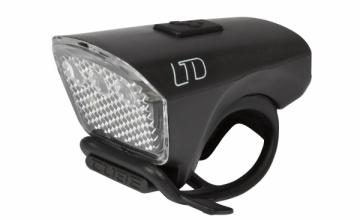 Priekinė lempa Cube LTD White LED black Gaismas velosipēdi