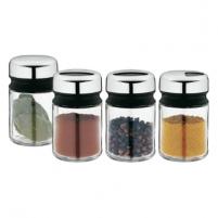 Prieskoninės Shaker/Tin Sets 4-pcs. Traukus žāvē beztaras produktu