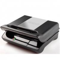Princess 117001 Grill Compact Flex, Removable plates, 800W, Black/steel Griliai kepsninės