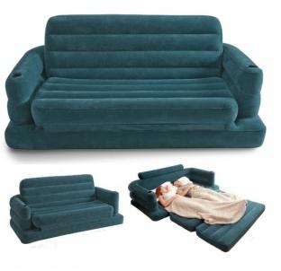Pripučiama sofa INTEX 68566, 193 x 231 x 71 cm Pripučiamos prekės