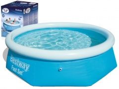 "Pripučiamas baseinas Bestway ""Fast Set"" 244x66 cm Inflatable swimming pools"