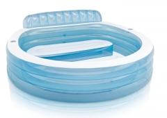 Pripučiamas baseinas INTEX, 224x216x76 cm Pripučiami baseinai