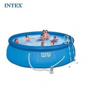 Pripučiamas Baseinas INTEX Easy Set 457 x 107 cm Pripučiami baseinai
