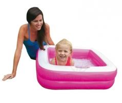 Pripučiamas baseinas INTEX Play Box, 85 x 85 x 23 cm Pripučiamos prekės