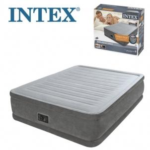 Pripučiamas čiužinys INTEX Comfort Plush Elevated Air Bed Queen Size, 203 x 152 x 46 cm Pripučiamos prekės