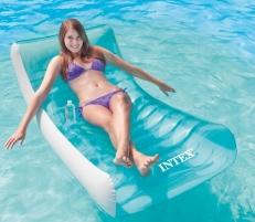 Pripučiamas plaukimo čiužinys INTEX Rockin Lounge Pripučiamos prekės