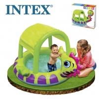 Pripučiamas vaikiškas baseinas INTEX Sea Horse, su stogeliu, 188 x 147 x 104 cm Ūdens apģērbs