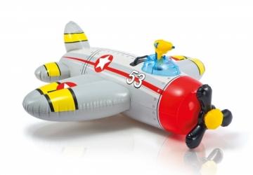Pripučiamas žaislas INTEX Water Gun Plane, 132 x 130 cm