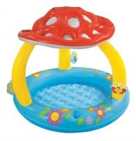 Pripučiamasis vaikiškas baseinas Musmirė Intex, Ø102 cm Pripučiami baseinai