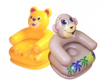 Pripučiamasis vaikiškas fotelis Intex Happy Animal Pripučiamos prekės