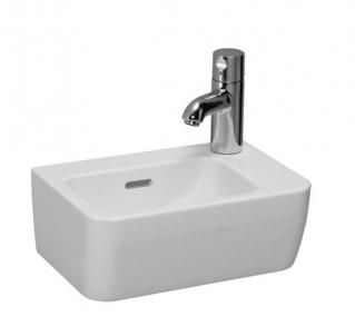 PRO A praustuvas 36 x 25 cm, su 1 anga maišytuvui dešinėje Wash basins