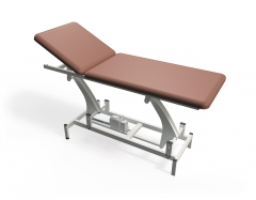 Procedūrinė lova TN-TBEM-2, dviejų dalių, elektrinė Procedūrų lovos, kėdės