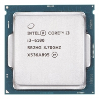 Procesorius Intel Core i3-6100, Dual Core, 3.70GHz, 3MB, LGA1151, 14nm, 51W, VGA, TRAY