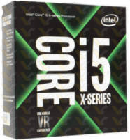 Procesorius Intel Core i5-7640X, Quad Core, 4.00GHz, 6MB, LGA2066, 14nm, 112W, BOX