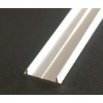 Profilis anoduotas LED juostoms, 2000mm, įleidžiamas 7621020 Lukturu gaismas diodes (led)