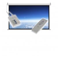 Projektoriaus ekranas ART electric display 16:9 119 264x147cm with remote control FS-119 16:9