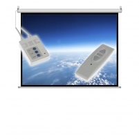 Projektoriaus ekranas ART electric display 4:3 120 244x183cm with remote control FS-120 4:3