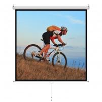 Projektoriaus ekranas ART manual display semi-automat 1:1 96 244x244cm MS-96 1:1