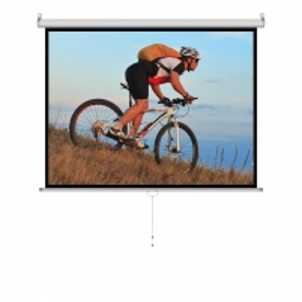 Projektoriaus ekranas ART manual display semi-automat 4:3 100 203x152cm MS-100 4:3