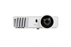 Projector Optoma GT760 DLP, Short Throw; 720p, 3400; 20000:1