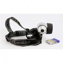 ARCAS 9-LED Headlamp + 3 x AAA (R03) batteries Spotlights, lights