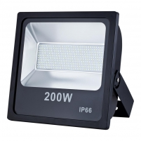Prožektorius ART External lamp LED 200W,SMD,IP66, AC80-265V,black, 6500K-CW