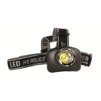 Camelion CT-4007 LED Head Light, plastic+metal/ High-performance chip SMD technology/ 130 Lumen/ Adjustable headband Spotlights, lights