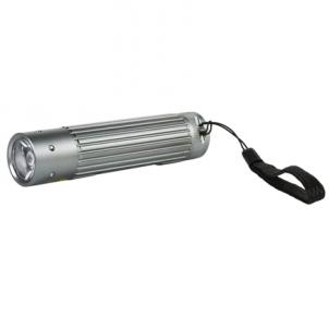 Camelion CT-4010 Aluminium Flashlight 1x 3 Watt LED (silver)/ 110-130 Lumen/ Visible distance: 100m/ Shock proof Prožektori, apgaismojums