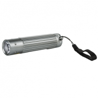 Prožektorius Camelion CT-4010 Aluminium Flashlight 1x 3 Watt LED (silver)/ 110-130 Lumen/ Visible distance: 100m/ Shock proof Prožektoriai, žibintai