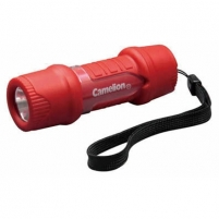 Camelion HP7011 Plastic Pocket LED flashlight, 1 LED (High Lumens LED), 40 Lm, + 3 pcs AAA Spotlights, lights