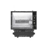 Prožektorius E40, 250W, MHE, IP65, paviršinis, juodas, asimetrinis, GTV OH-OM250A-10 Halogēnu lampas