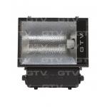 Prožektorius E40, 250W, MHE, IP65, paviršinis, juodas, simetrinis, GTV OH-OM250S-10 Halogēnu lampas