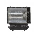 Prožektorius E40, 400W, MHE, IP65, paviršinis, juodas, simetrinis, GTV OH-OMC400-10 Halogēnu lampas