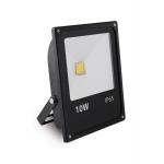 Prožektorius LED, 10W, IP65, paviršinis, juodas, 6000K, siauras, INNOVO, GTV IN-SFC10W-64