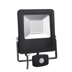 Prožektorius LED, 10W, IP65, paviršinis, pilkas, 4400K, su 120° judesio jutikliu, PMX10S Specialios paskirties šviestuvai