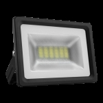 Prožektorius LED, 10W, IP65, paviršinis, pilkas, 4400K,siauras, PMX10 SLIM Specialios paskirties šviestuvai
