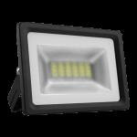 Prožektorius LED, 10W, IP65, paviršinis, pilkas, 4400K,siauras, PMX10 SLIM