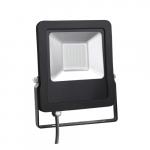 Prožektorius LED, 20W, IP65, paviršinis, juodas, 6000K, MAX-LED