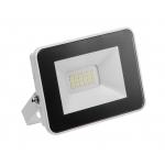 Prožektorius LED, 20W, IP65, paviršinis, pilkas, 4000-4500K, Ribbed, B/D, BOWI 010188
