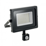 Prožektorius LED, 20W, IP65, paviršinis, pilkas, 6000K, su 120° judesio jutikliu, BOWI 008871 Specialios paskirties šviestuvai