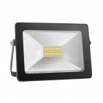 Prožektorius LED, 20W, IP65, paviršinis, siauras, juodas, 4000K, SLIM 20W