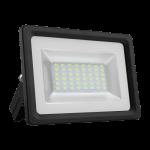 Prožektorius LED, 20W, IP65, paviršinis, siauras, juodas, 6000K, Superled SLIM 20W B/Z
