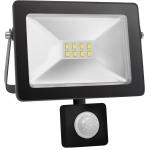 Prožektorius LED, 20W, IP65, paviršinis, su 180° judesio jutikliu, juodas, 6000K, Superled 20W BZ+CZ