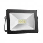 Prožektorius LED, 30W, IP65, paviršinis, juodas, 6000K, COB, MAX-LED