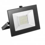 Prožektorius LED, 30W, IP65, paviršinis, siauras, juodas, 6000K, Superled SLIM 30W B/Z