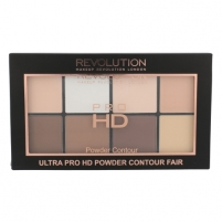 Pudra Makeup Revolution London Ultra Pro HD Powder Contour Palette Cosmetic 20g Shade Fair Pudra veidui