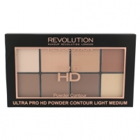Pudra Makeup Revolution London Ultra Pro HD Powder Contour Palette Cosmetic 20g Shade Light Medium