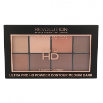 Pudra Makeup Revolution London Ultra Pro HD Powder Contour Palette Cosmetic 20g Shade Medium Dark