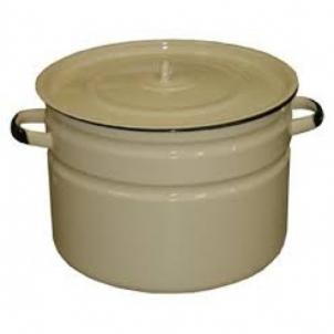 Puodas emal. 32L b/p Pot